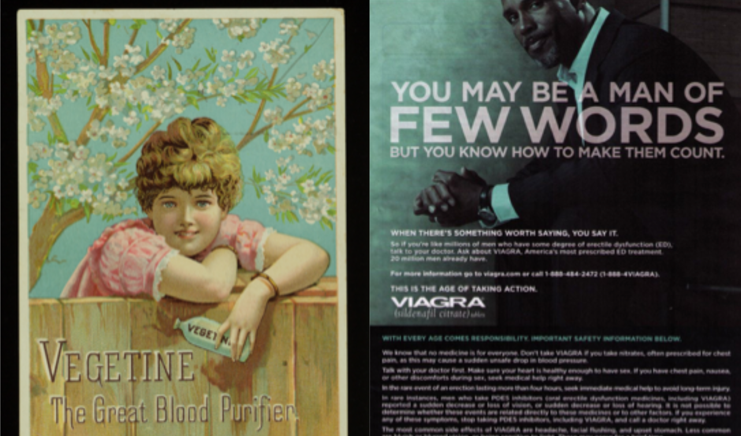 Drug Ads from Past and Present