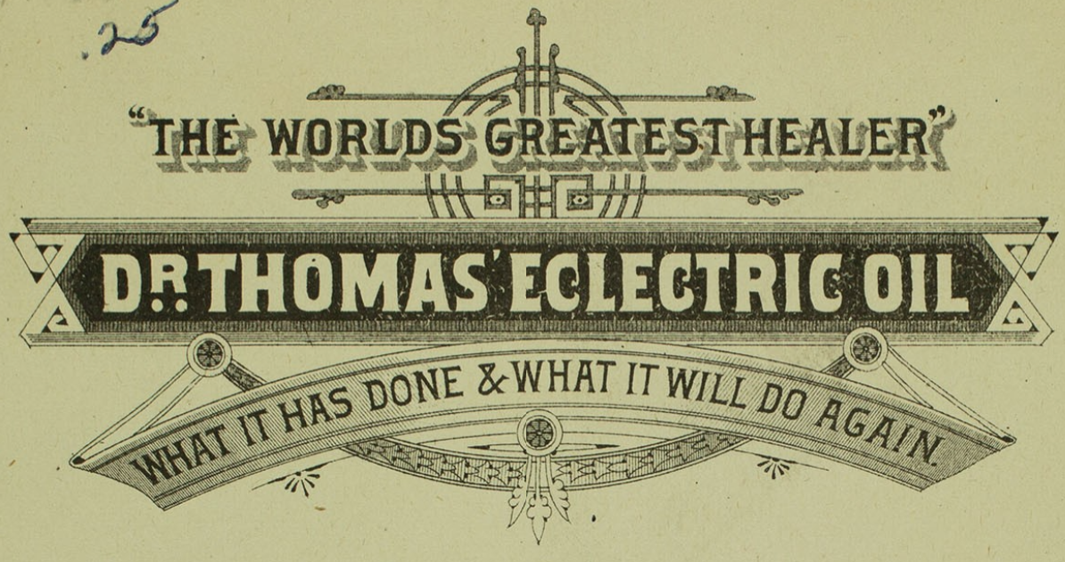 Dr. Thomas' Eclectric Oil