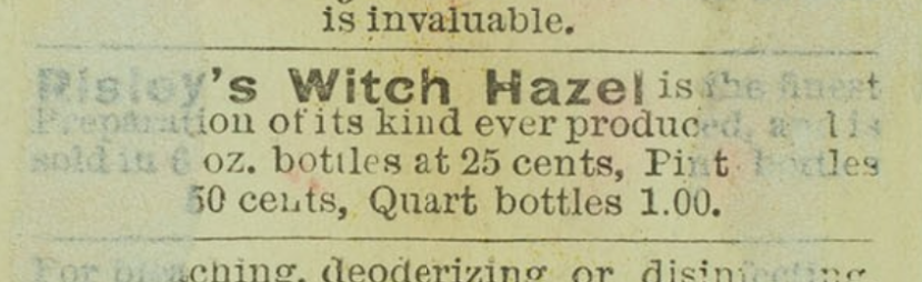Risley's Witch Hazel
